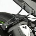 R&G Exhaust Hanger (w/ Foot Rest Blanking Plate) for ZX10R 11-15