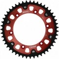 Supersprox Stealth Red 520 Rear Sprocket for ZX6R 00-02