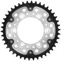 Supersprox Stealth Silver 525 Rear Sprocket for 1000 Sport S 08