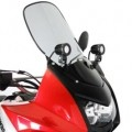 Denali Fairing-Mounted Light Brackets for KLR650E 08