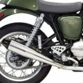 Bassani 4'' Slip-On Performance Muffler for Thruxton 04-13