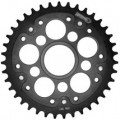 Supersprox Stealth Black 520 Rear Sprocket for Monster 796 11