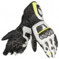 Dainese Full Metal RS Gloves Black/White/Yellow-Fluo