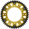 Supersprox Stealth Gold 520 Rear Sprocket for CRF450X 05-12