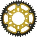Supersprox Stealth Gold 530 Rear Sprocket for ZZR1200 Ninja 02-05