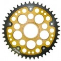 Supersprox Stealth Gold 525 Rear Sprocket for Hypermotard 796 10-12