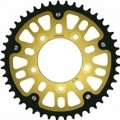 Supersprox Stealth Gold 520 Rear Sprocket for GSX650F 08-10