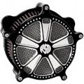 Roland Sands Design Venturi Air Cleaner Judge, Contrast Cut for FXDB/I 06-12