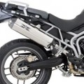Remus HexaCone Slip-on Exhaust for Tiger 800 11-12