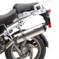 Two Brothers M5 Black Slip-On Exhaust for R1200GS Adventure 10-12