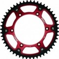 Supersprox Stealth Red 520 Rear Sprocket for DR650SE 96-09