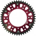 Supersprox Stealth Red 520 Rear Sprocket for CRF450R 02-03