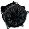 Roland Sands Design Venturi Air Cleaner Slam, Black Ops for FXD/I 05-10