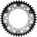 Supersprox Stealth Silver 530 Rear Sprocket for ZX600 ZX6R 93-04