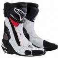 Alpinestars Men's SMX Plus Boots Black/White/Red-Vented