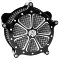 Roland Sands Design Venturi Air Cleaner Speed 7, Platinum Cut for FXDB/I 06-12