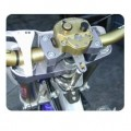 Scotts Steering Stabilizer Bolt-On Kit with Triple Clamp for YZ250 09