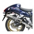 Two Brothers M2 Slip-On Exhaust for GSX1300R 08-09