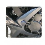 Woodcraft Frame Slider Base Kit (Pucks Sold Separately) for GSXR600 08-10