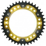 Supersprox Stealth Gold 520 Rear Sprocket for CBR600RR 07-13