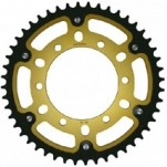 Supersprox Stealth Gold 520 Rear Sprocket for YZF-R6 06-13