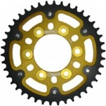Supersprox Stealth Gold 525 Rear Sprocket for ZX10R 04-05