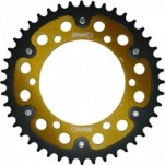 Supersprox Stealth Gold 530 Rear Sprocket for TL1000R 98-03