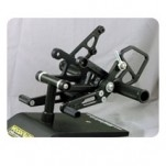 Woodcraft Complete Rearset Kit w/Pedals for CBR1000RR 08-13
