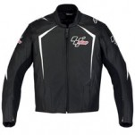 Alpinestars Men's MotoGP 110 Leather Jacket Black