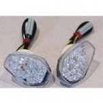 K & S LED Flush Fairing Marker Lights for GSXR600 01-05