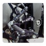 Woodcraft Rearset Kit w/Brake Pedal for ZX6R 09-12
