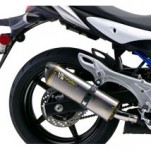 Two Brothers M2 Slip-On Exhaust for Gladius 09-15