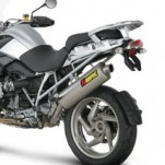 Akrapovic Slip-On Exhaust for R1200GS 10-12