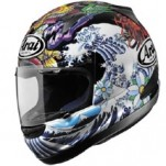 Arai RX-Q Full Face Graphics Helmet Oriental-Black