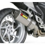 Akrapovic Street Legal Slip-On Exhaust (High-Mount) for VFR1200F 10-14