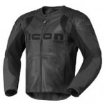 Icon Men's Overlord Prime Leather Jacket Stealth
