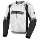 Icon Men's Overlord Textile Jacket White (Closeout)