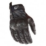 Joe Rocket Men's Supermoto 2.0 Leather Gloves Black/Black