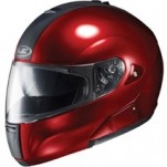 HJC IS-Max BT Helmet Solid Metallic-Wine-Berry