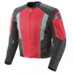 Joe Rocket Men's Phoenix 5.0 Textile Mesh Jacket Red/Black
