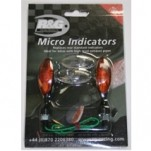 R&G Racing Plug 'N Play Micro Indicators Turn Signals (Incandescent 10 Watt)