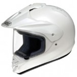 Shoei Hornet-DS Metallic Helmet Crystal-White