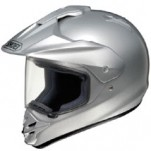 Shoei Hornet-DS Metallic Helmet Light-Silver
