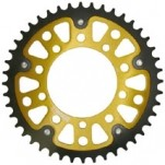 Supersprox Stealth Gold 520 Rear Sprocket for RSV4/Factory APRC 09-14