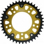 Supersprox Stealth Gold 525 Rear Sprocket for Tuono 1000 05-10
