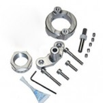 Scotts Steering Stabilizer / Damper Mount Kit Only (No Stabilizer) for ZX10R 08-10