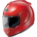 Arai Vector 2 Solid Helmet Race-Red