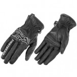 Firstgear Women's Amber Leather Gloves Black (Closeout)