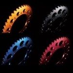 Driven Colored 520 Rear Sprocket for 300 EXC 00-04
