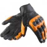 Dainese Ricochet Gloves Black/Orange/Black
